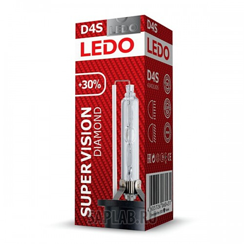 Купить запчасть LEDO - 42402LXDS Лампа D4S 5000K LEDO Diamond SuperVision +30%